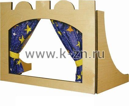Настольная ширма для кукольного театра своими руками 91